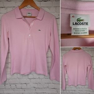 Lacoste polo shirt size M